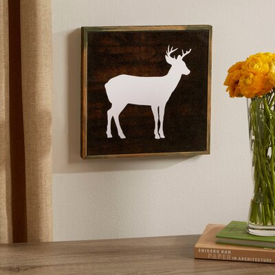 Deer Woodland Wall Art