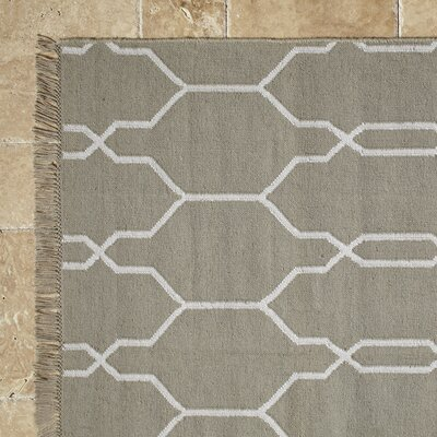 Perrie Hand-Woven Indoor/Outdoor Area Rug Rug Size: Rectangle 5 x 8