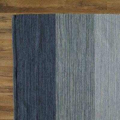 Jaya Sky Hand-Woven Area Rug Rug Size: Runner 26 x 76