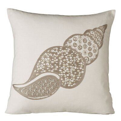 Marina Shell Embellished Pillow Cover