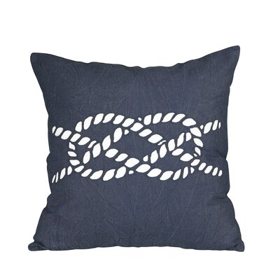 Nautical Knot Fleet Pillow Cover