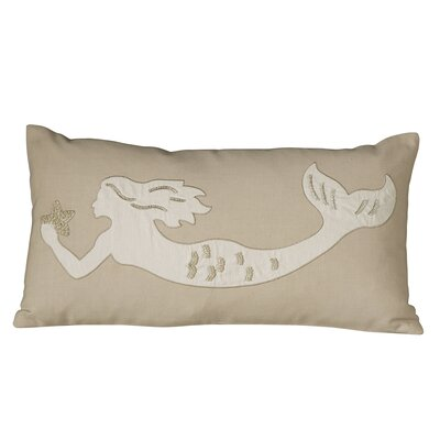 Marina Mermaid Embellished Pillow Cover