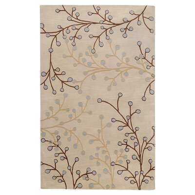 Layla Hand-Woven Natural Area Rug Rug Size: Oval 8 x 10