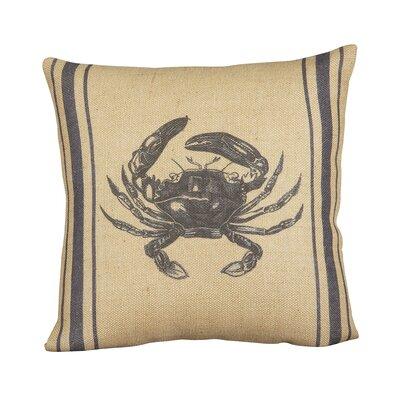 Crab Seafarer Pillow Cover