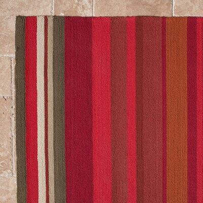 Mariela Sangria Indoor/Outdoor Rug Rug Size: 9 x 12