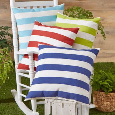 Birch Lane Dion Striped Outdoor Pillow