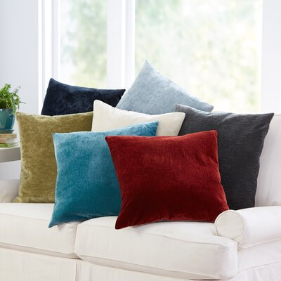 Rochelle Pillow Cover Size: 16 x 24, Color: Pool