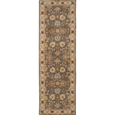 Arden Sage Hand-Woven Wool Area Rug Rug Size: Runner 3 x 12
