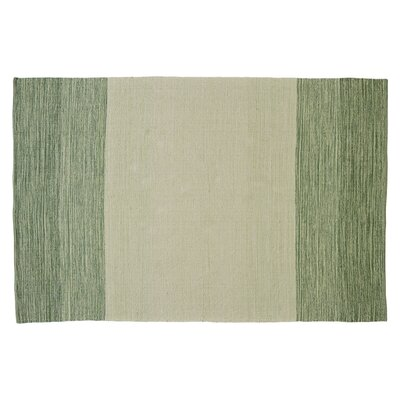 Jaya Leaf Hand-Woven Area Rug Rug Size: Rectangle 5 x 76