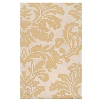 Diana Canary Rug Rug Size: Rectangle 6 x 9