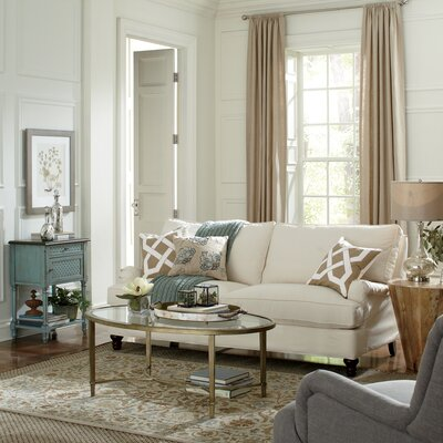 Montgomery Slipcovered Sofa Upholstery: Spinnsol Natural