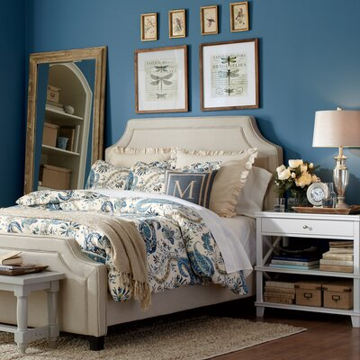 Parker Upholstered Bed Size: King