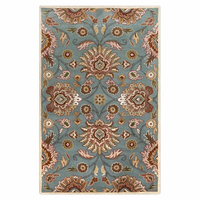 Phoebe Cove Blue Rug Rug Size: Rectangle 76 x 96