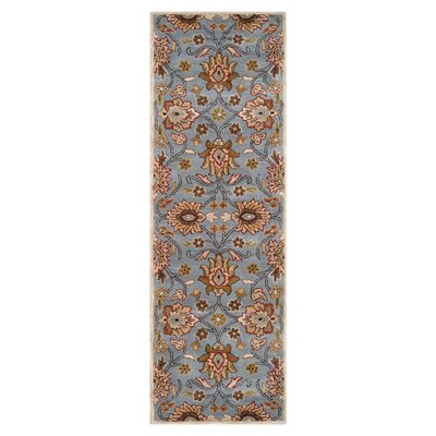 Phoebe Cove Blue Rug Rug Size: Runner 2'6