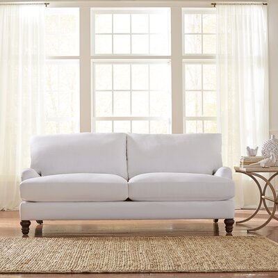 Montgomery Upholstered Sofa Upholstery: Godiva Putty