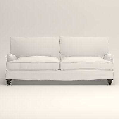 Montgomery Slipcovered Sofa Upholstery: Classic Bleach White