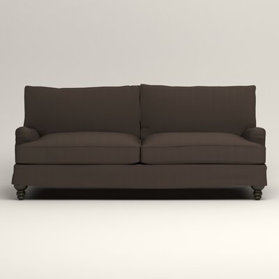 Montgomery Slipcovered Sofa Upholstery: Oakley Graphite