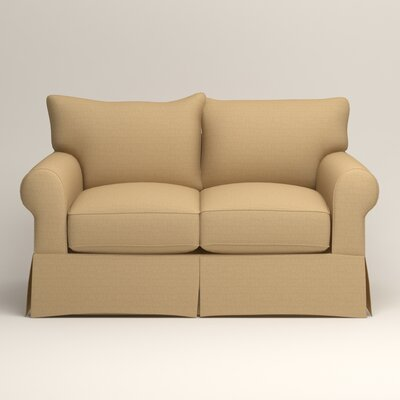 Jameson Loveseat Upholstery: Bailey Barley Blended Linen