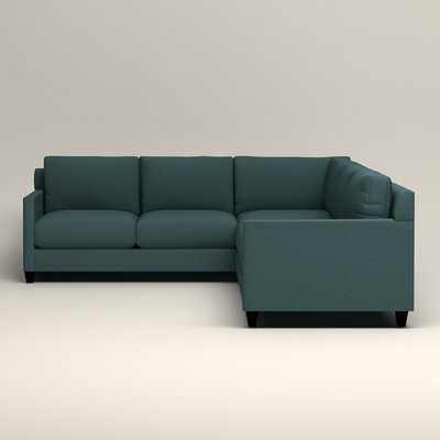 Kerry L-Shaped Sectional Orientation: Right Facing, Upholstery: Bailey Aegean Blended Linen