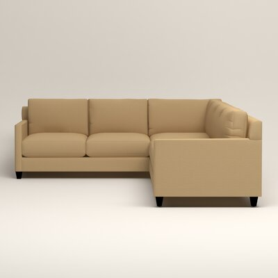 Birch Lane GVMMFSMDSOTGMBY Kerry L-Shaped Sectional Upholstery