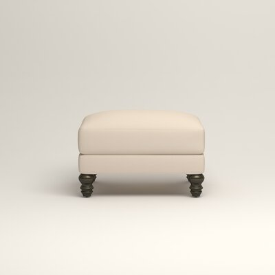 Montgomery Upholstered Ottoman Upholstery: Microsuede Oyster
