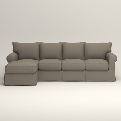 Jameson Sofa with Chaise Orientation: Left, Upholstery: Bryant Slate Textured Slub