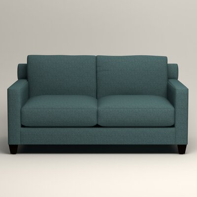 Kerry Loveseat Upholstery: Lizzy Prussian