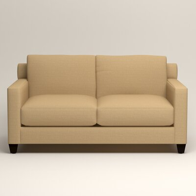 Kerry Loveseat Upholstery: Trillion Saffron