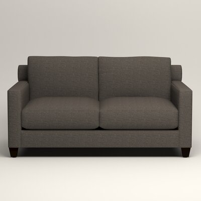 Kerry Loveseat Upholstery: Lizzy Graphite