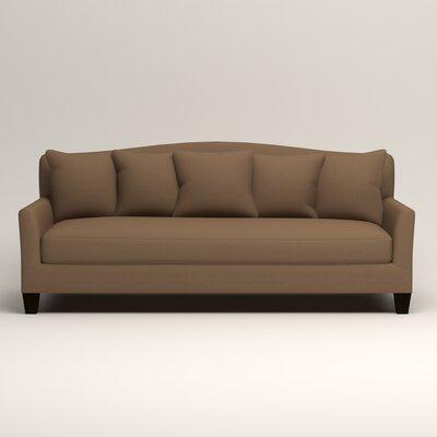 Fairchild Sofa Upholstery: Microsuede Cappucino
