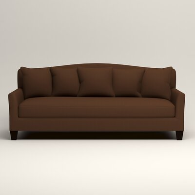 Fairchild Sofa Upholstery: Microsuede Chocolate