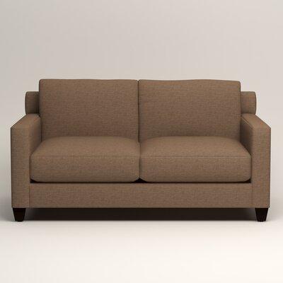Kerry Loveseat Upholstery: Lizzy Hemp