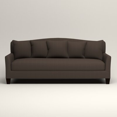 Fairchild Sofa Upholstery: Microsuede Charcoal