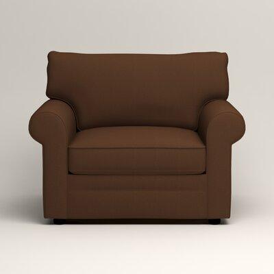 Newton Side Chair Color: Jackson Coffee Microsuede