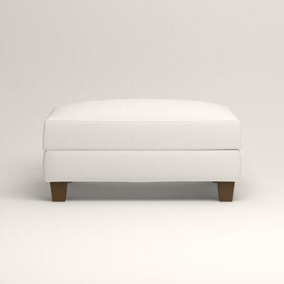 Fairchild Ottoman Upholstery: Classic Bleach White