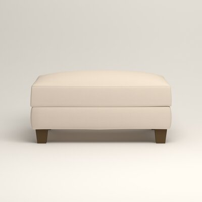Fairchild Ottoman Upholstery: Microsuede Oyster