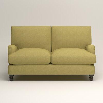 Montgomery Upholstered Loveseat Upholstery: Lizzy Kiwi