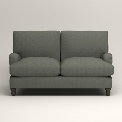 Montgomery Upholstered Loveseat Upholstery: Lizzy Surf