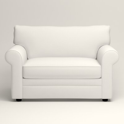 Newton Chair and a Half Upholstery: Classic Bleach White