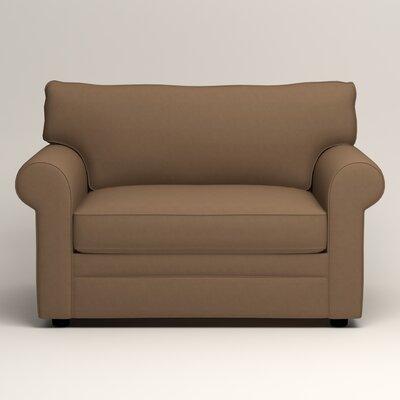 Newton Grand Chair Fabric: Jackson Bark Microsuede