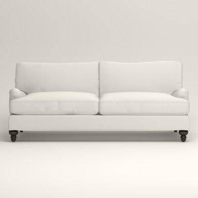 Montgomery Upholstered Sofa Upholstery: Classic Bleach White