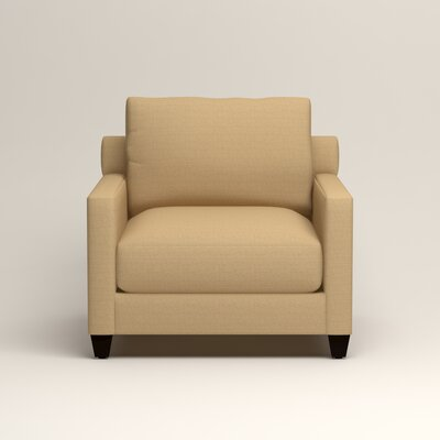 Kerry Armchair Upholstery: Trillion Saffron