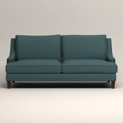 Larson Sofa Upholstery: Bailey Aegean Blended Linen
