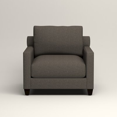 Kerry Armchair Upholstery: Lizzy Graphite