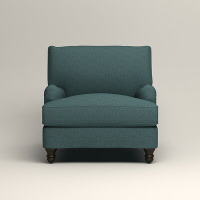 Montgomery Armchair Upholstery: Lizzy Prussian