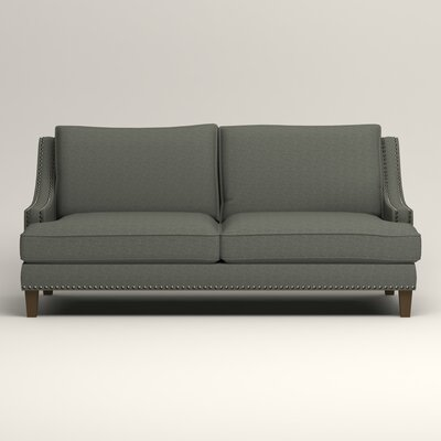 Larson Sofa Upholstery: Bailey Lagoon Blended Linen