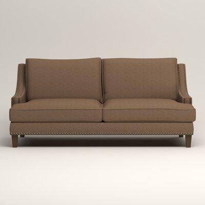 Larson Sofa Upholstery: Bailey Mushroom Blended Linen