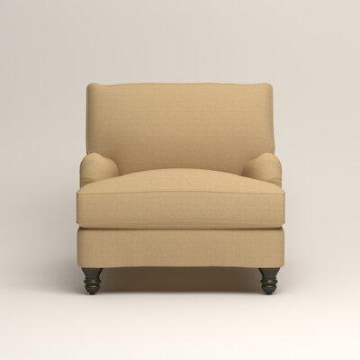 Montgomery Armchair Upholstery: Trillion Saffron
