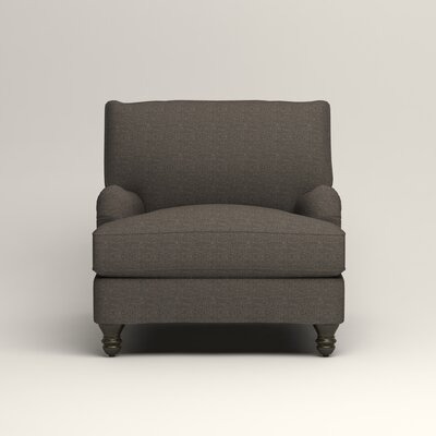 Montgomery Armchair Upholstery: Lizzy Graphite