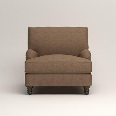 Montgomery Armchair Upholstery: Lizzy Hemp